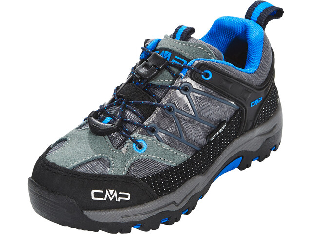CMP Campagnolo Rigel Low WP Chaussures de trekking Enfant, grey-zaffiro
